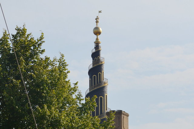 Spire of the Church of Our Saviour