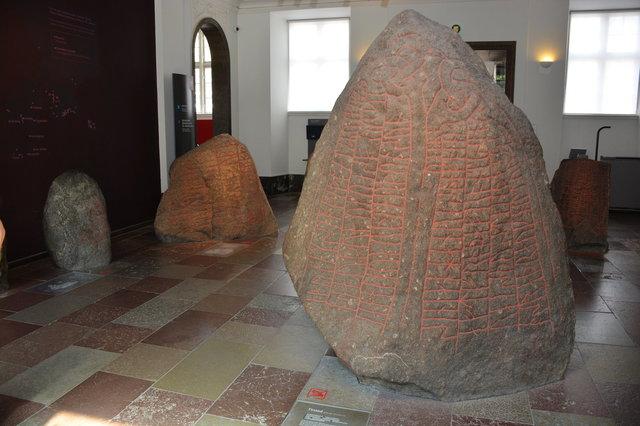 Runestone at the National Museum of Denmark