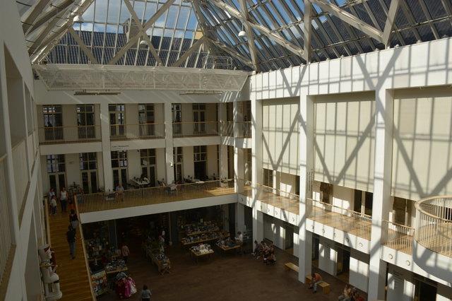 Atrium at the National Museum of Denmark