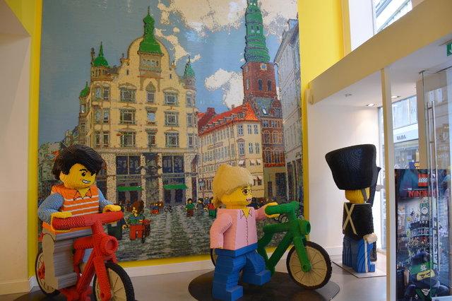 Lego sculptures in Copenhagen