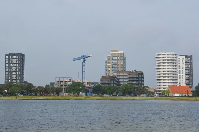 Apartment buildings in Amager