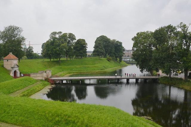 Moat at Kastellet
