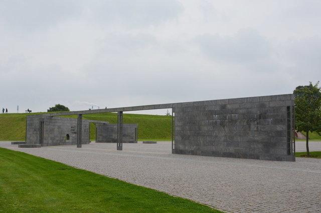 Monunment for Denmark's international effort since 1948
