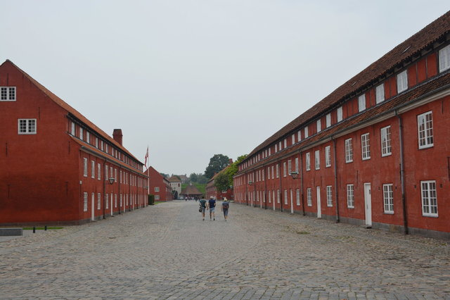 Barracks at Kastellet