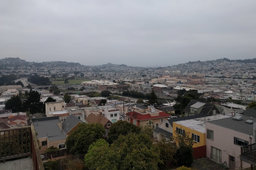 Foggy view of Excelsior
