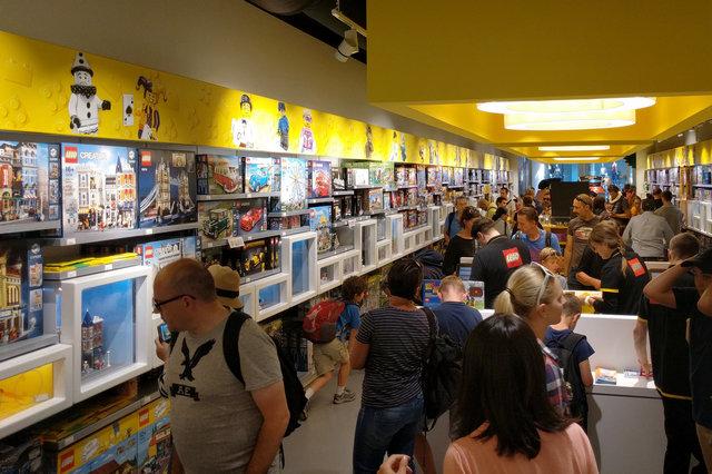 Lego store in Copenhagen