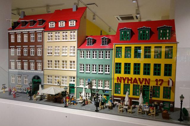 Lego view of Copenhagen