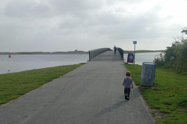Julian walks at Amager Strandpark