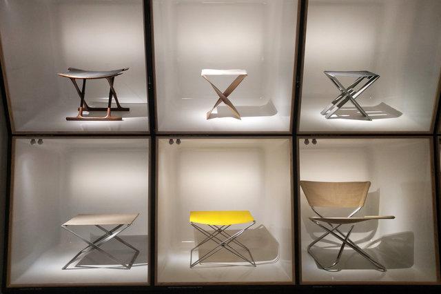 Danish chairs in the Designmuseum Danmark