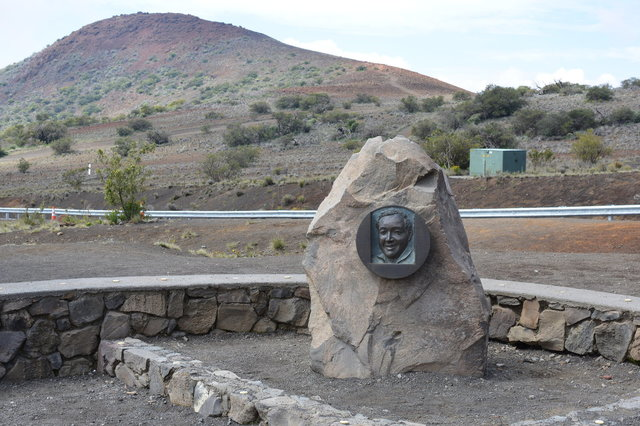Ellison Onizuka memorial on Manua Kea