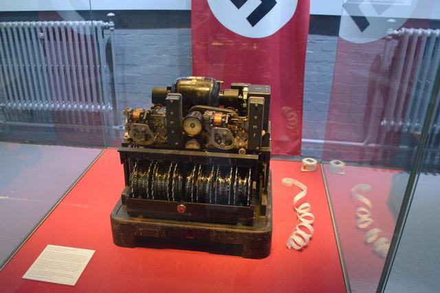 Lorenz cipher machine