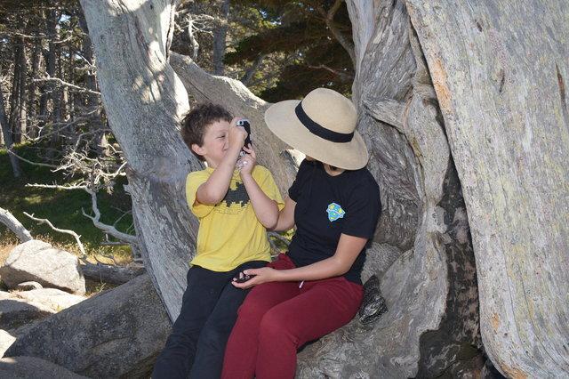 Calvin and Echo at Point Lobos