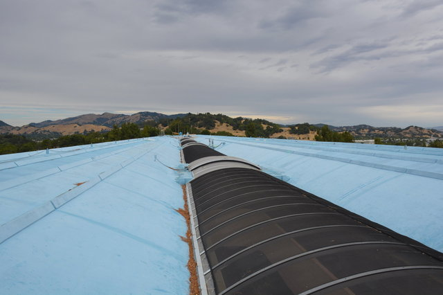 Roof of the Marin County Civic Center