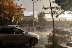 Rain in Fremont