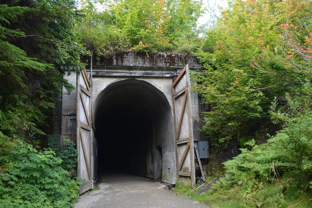 East portal of the Snoqualmie Tunnel
