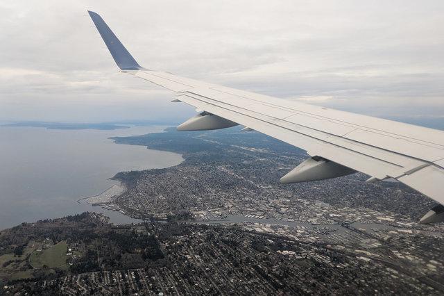 Ballard from the air