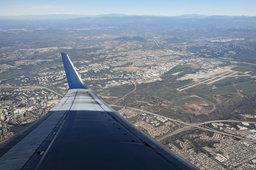 Sorrento Valley, Mira Mesa, and Miramar MCAS from the air
