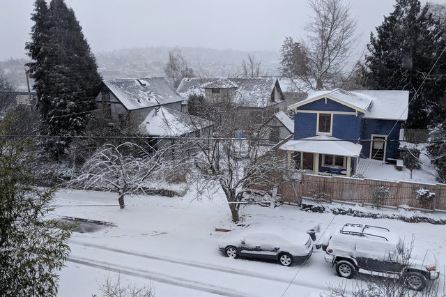 Snow on 37th Street