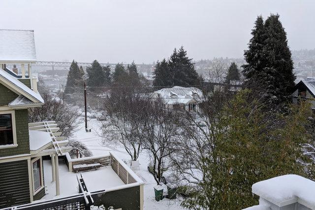 Snow in Wallingford
