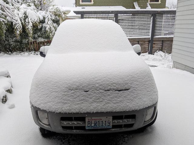 Snow on Motoko