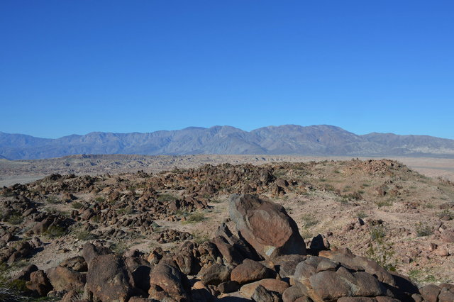 Rocks piled on the summit of West Butte