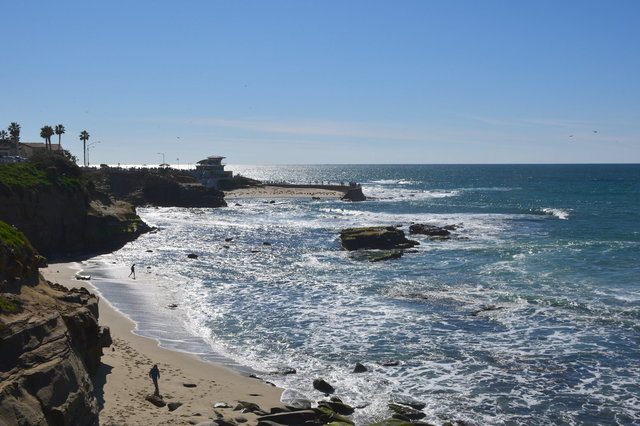 Seal Rock and Children's Pool from La Jolla