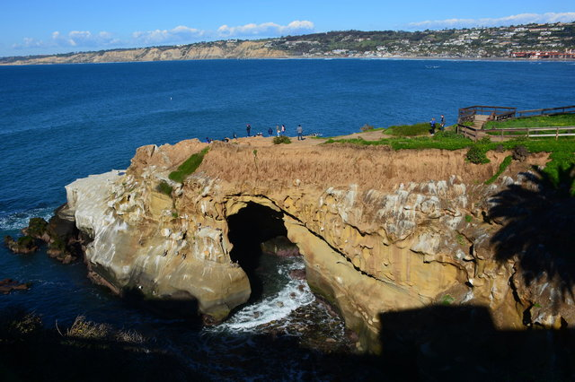 One of the La Jolla caves