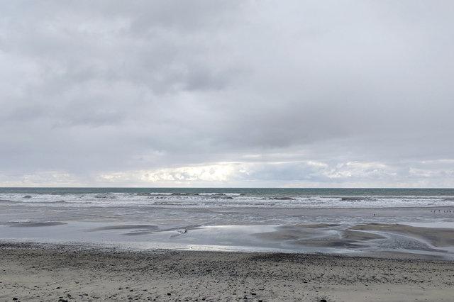 Pacific Ocean at Torrey Pines State Beach