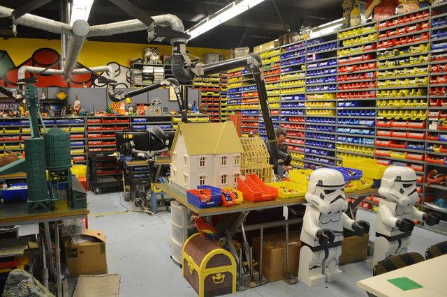 Master builder's workshop at Legoland