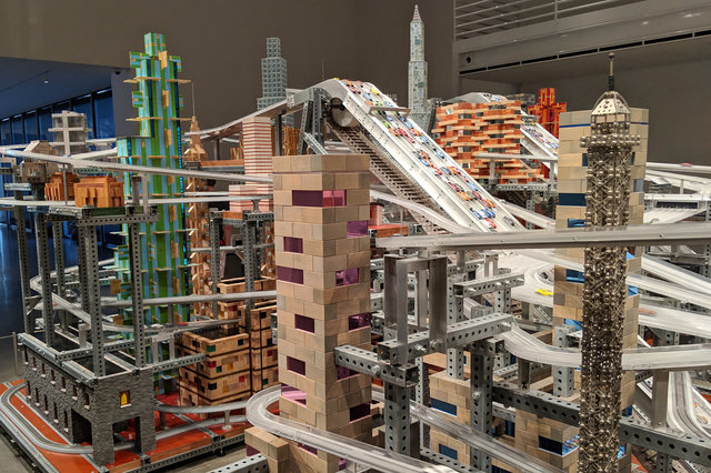 Metropolis II by Chris Burden at LACMA