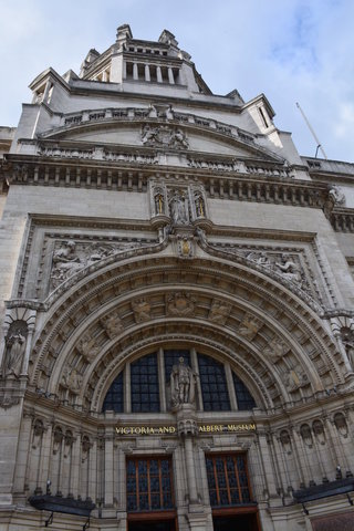 Front of the V&A Museum