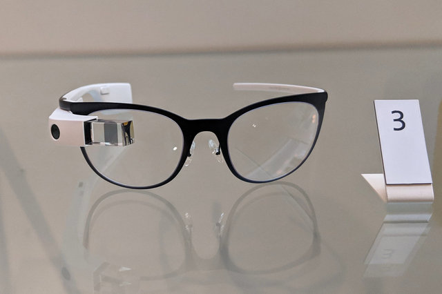 Google Glass at the V&A