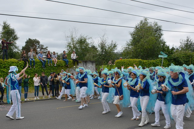Dancers in the Fremont Solstice Parade