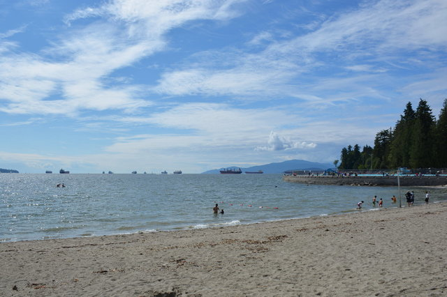 Second Beach in Stanley Park, Vancouver
