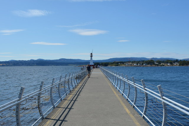 Breakwater Lighthouse in Victoria Harbour