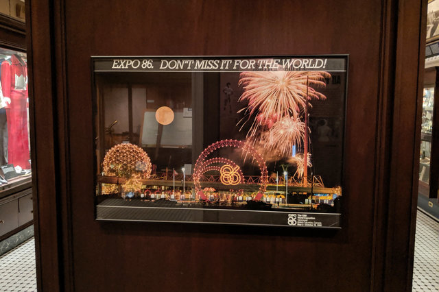Expo 86: Don't miss it for the world! (At the Royal British Columbia Museum)