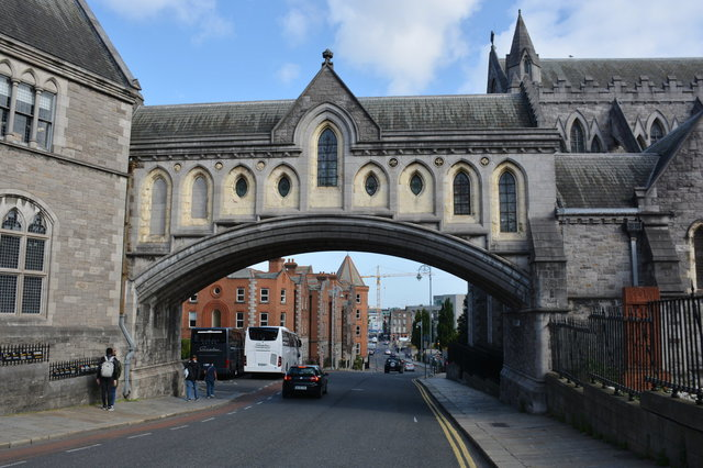 Bridge leading to Christ Church Cathedral