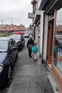 Calvin and Julian on Bridgefoot Street in Dublin