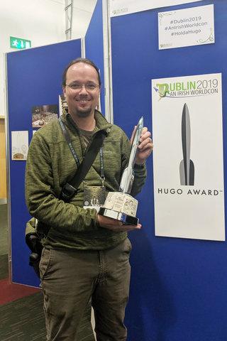 Jaeger with the Dublin 2019 model Hugo