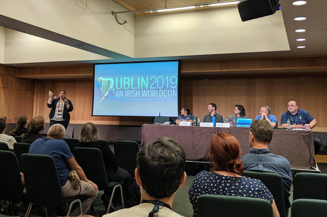 Escape Artists panel at Worldcon
