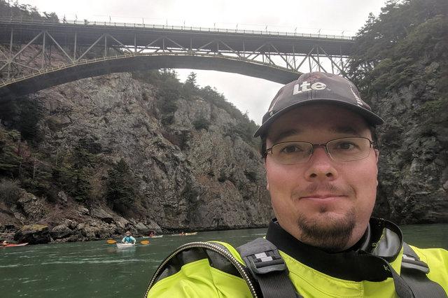 Jaeger under Canoe Pass