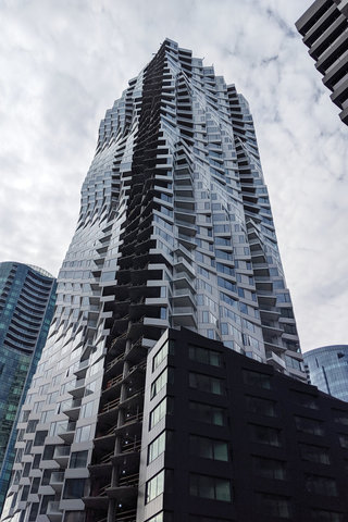 Folsom Bay Tower, nearly complete