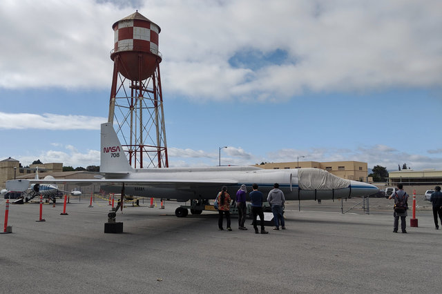 NASA U2 at Moffett Field