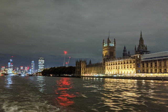 Houses of Parliament from the Thames