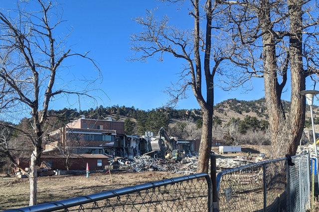 Demolition of BCH Mapleton Center