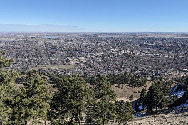 Boulder from Mount Sanitas