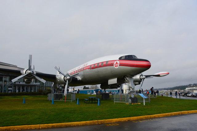 Super Constellation at the Museum of Flight
