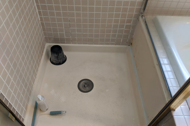 Wallingford master bath shower
