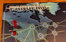 Pandemic board with Seattle about to outbreak