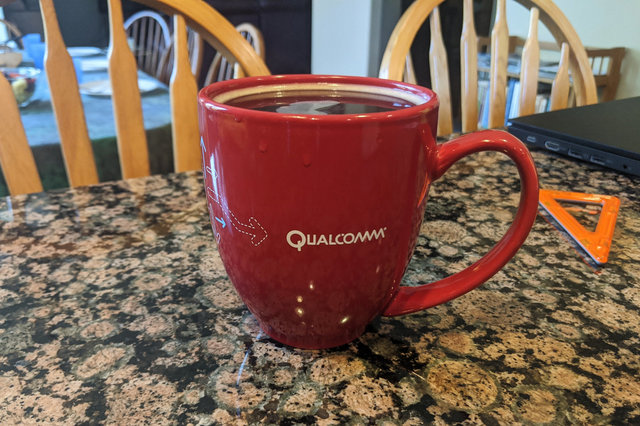 Qualcomm mug